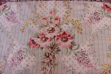 """Pretty Romantic French Old Victorian Floral~Botanical Home Dec Fabric~17""""L X32""""W"""