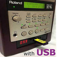 USB Roland MT-90S Midi Music Player Sequencer USB Flash Drive + Tune1000 - Cyber