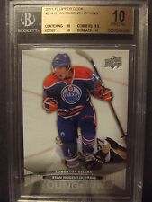 2011-12 Upper Deck .. #214 - Ryan Nugent-Hopkins RC Young Guns BGS 10 Pristine