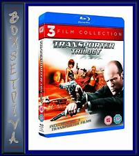 THE TRANSPORTER TRILOGY - 3 FILM COLLECTION *** BRAND NEW BLU-RAY **