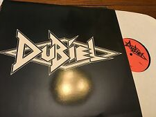 DUBIEL..RARE GLAM ROCK EP PRIVATE PRESS FEMALE FRONTED MINT w/ lyric insert 1986