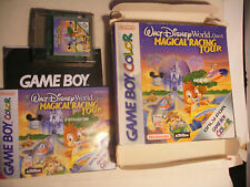 jeu GBA NINTENDO Game Boy Color Walt Disney World Quest Magical Racing Tour
