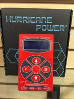 Hurricane HP-2 RED Dual Digital LCD Tattoo Power Supply- New Version Free Ship!!