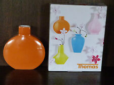 1 Wandvase Vase 12cm rund Sunny Day von Thomas Rosenthal orange