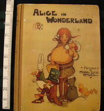 Rare Complete Alice in Wonderland pictured by Mabel Lucie Attwell pub. Tuck