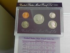 KMS USA1991 PP,  Coin Set USA 1991 Proof, United States Proof Set 1991