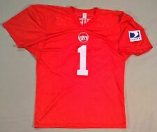 "Circuit City Direct TV Football Jersey Men's XL ""Live the Game"""