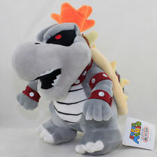 SUPER MARIO BROS. SKELOBOWSER PELUCHE Dry Bones Skele Bowser Plush Skelebowser