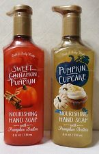 Sweet Cinnamon Pumpkin Cupcake deep cleanse hand soap Bath & Body Works Butter 2