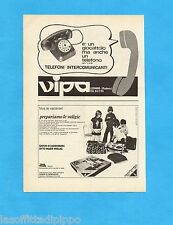 TOP971-PUBBLICITA'/ADVERTISING-1971- VIPA - TELEFONI COMUNICANTI (A)