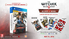 THE WITCHER III 3 WILD HUNT BLOOD AND WINE LIMITED PS4  ENGLISH VERSION