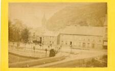 Photographie ancienne CDV CHERBOURG Vue prise rue de Roule circa 1865-70