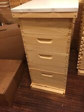 10 frame langstroth 4 box beehive frames included