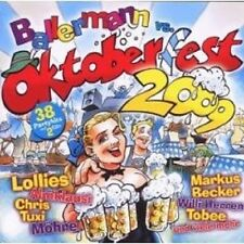 BALLERMANN VS OKTOBERFEST 2009 2 CD 38 TRACKS NEU
