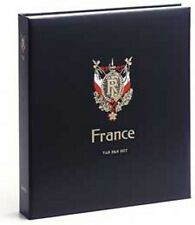 DAVO Luxery Hingless Album France Red Cross Booklets 1952-2008