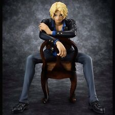 Anime One Piece Portrait Of Pirates S.O.C Sabo 1/8 Scale PVC Figure New In Box