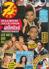 7 EXTRA 93/49 (8/12/93) KEANU REEVES 2 UNLIMITED MARC LAVOINE YVHANN CEVIC