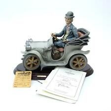 RARE LE Vintage Giuseppe Armani Florence Country Doctor in Car 848/C Figurine