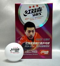 6 (1 Box) DHS 40+ 3 Star Table Tennis Ball, New Material, Cell-Free,New Arrival