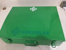 """Used GREENLEE HYDRAULIC KNOCKOUT PUNCH SET 767 And 746 Pump 1/2"""" To 4"""""""