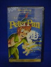 VHS- WALT DISNEY-LE AVVENTURE DI PETER PAN- NUOVA
