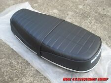HONDA CB100 CL100 CB125S Complete Double Seat / Chrome Trim / High Quality