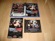 WWE SMACKDOWN VS. RAW 2010 DE THQ PARA LA SONY PS2 USADO COMPLETO