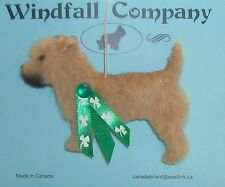 The Irish Glen of Imaal Terrier Dog Plush Christmas Canine Ornament # 1 by WC