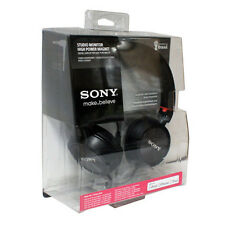 Sony MDR-ZX300iP Black Headband Headphones With Mic/Remote-For iPhone/iPod/iPad