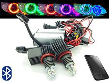H8 cree Led Ojo Angel De Cambio De Color Bluetooth Halo Anillos BMW E90 E91 07-10