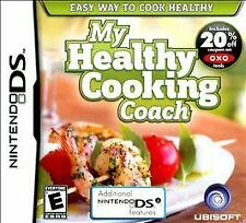 My Healthy Cooking Coach GAME Nintendo DS DSI XL LITE 2 2DS 3 3DS