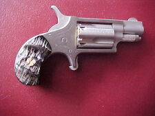 North American Arms grips in Impala horn for the 22 lr  custom grips