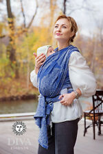 Diva Essenza Azzuro Woven Wrap Baby Sling - size 6