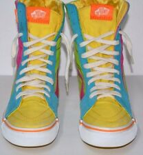 VANS OFF THE WALL HIGH TOPS US WOMENS 7.5 PRE OWNED