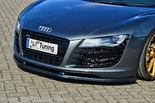 Spoilerschwert Frontspoiler Lippe Cuplippe aus ABS für Audi R8 Typ 42 schwarz