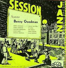 BENNY GOODMAN-SESSION JAZZ LP VINILO (10 INCH) SPAIN GOOD COVER CONDITION-