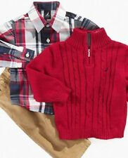 Nautica Baby Set, Baby Boys 3 Piece Sweater Set - Size 12/18 Months NWT