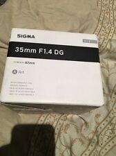 Sigma DG 35mm F/1.4 HSM DG Lens (Art) NIKON FIT