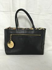 Kenzo black purse handbag faux leather