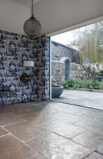 Jaipur Brushed Limestone Tiles Slabs Aged Flagstone