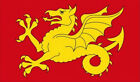 5' x 3' Wessex Flag Anglo Saxon Dragon England English County Flags Banner
