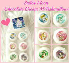 ❤ Sailor Moon x It's Demo Uranus Neptune Kawaii chocolate Cream Marshmallow ❤