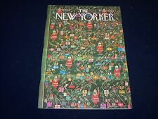 1964 DECEMBER 19 NEW YORKER MAGAZINE - BEAUTIFUL FRONT COVER FOR FRAMING- O 5008