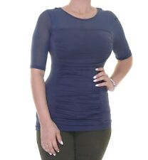 INC International Concepts Ruched Illusion Top Size XL
