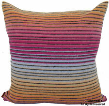 """MISSONI HOME DIONISIO T57 80% LAMBSWOOL 20% CASHMERE DOUBLE FACE 16"""" x 16"""""""