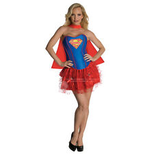 Damen Batgirl Supergirl Wonder Woman Robin Hero Kostüm Kleid superman