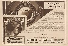 Y8791 Appareil Photo Voigtlander HELIAR - Pubblicità d'epoca - 1931 Old advert