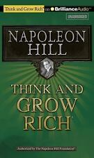 THINK AND GROW RICH unabridged audio book on CD by NAPOLEON HILL