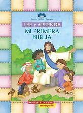 Mi Primera Biblia by Inc. Staff Scholastic (2015, Board Book)