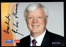 Günter Struve MDR Autogrammkarte Original Signiert ## BC 39289